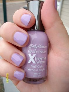 Purple nails, I have this and it is my new favorite favorite (and so cheap!)