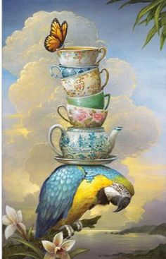 "Saatchi Art ""The Burden of Formality"", Limited Edition of 53 sold,"" by Kevin Sloan. Original Printmaking: Paper on Giclée. Size is 24 H x 17 W x in. Art And Illustration, Tee Kunst, Arte Sketchbook, Photocollage, Tea Art, Surreal Art, Bird Art, Oeuvre D'art, Printmaking"