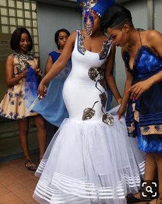 Wedding Shweshwe Dresses for 2019 ShweShwe 1 African Bridesmaid Dresses, African Wedding Attire, African Lace Dresses, Latest African Fashion Dresses, African Attire, African Weddings, Ankara Fashion, Nigerian Weddings, African Print Wedding Dress