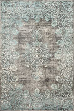 FREE SHIPPING! Shop Joss & Main for your Jane Rug. Features:Origin: ChinaStyle: VintageConstruction type: Cut pileProduct Type: Area RugRug Shape: Distressed: NoConstruction: YesTechnique: Machine wovenHoliday Theme: NoHoliday: Seasonal Theme: NoSeason: Primary Color: Pastel blue/Grey/ BeigeGende...