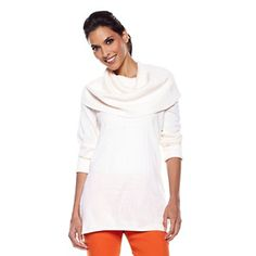 twiggy LONDON Slouchy Cowl-Neck Sweater at HSN.com. #HSN and #FallFashion