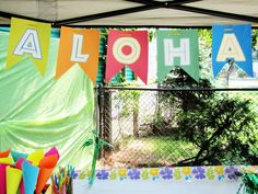 "Photo 1 of 10: Hawaiian Luau/Tiki Party / Summer ""Luau Graduation Party"" 