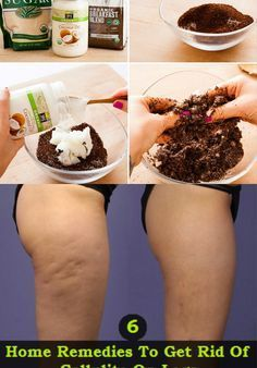 """Cellulite has been long-deemed """"untreatable."""" But frequently, the solve for many of our beauty concerns is already in our pantry or garden. Try this at-home cure using coffee grounds and coconut oil for cellulite. Bb Beauty, Beauty Care, Beauty Skin, Home Remedies, Natural Remedies, Beauty Secrets, Beauty Hacks, Cellulite Remedies, Tips Belleza"""