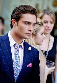 Oh Ed Westwick you sexy beast!