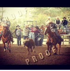 Roping at the high school Rodeo
