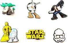 6 pcs Set of Shoe Charms Star Wars Buttons - http://on-line-kaufen.de/hermes/6-st-star-wars-satz-des-schuh-schmucken