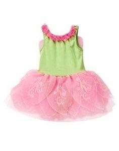 New Gymboree Fairy Costume 6-12 Months - pink & green tutu