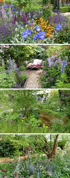 Woodland gardens - design ideas from the Chelsea Flower Show