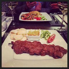 Samen met @elmahar #eten om een mooie twee dagen #groepscoaching af te sluiten... :-) #myview #foodporn