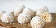 No Bake Coconut Ball Dog Treats - I Quit Sugar