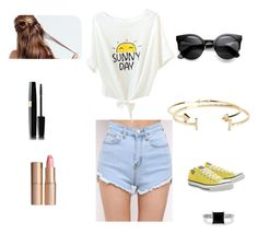 """""""#12"""" by elizabethwilliams-6 ❤ liked on Polyvore featuring Aéropostale, Converse, BERRICLE and Charlotte Tilbury"""