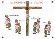 Poster Le Signe de la Croix