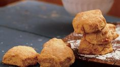 Sweet Potato Biscuits Recipe Breads with Bisquick Baking Mix, butter, sweet potatoes, milk