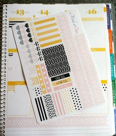 Make it Ours Weekly Layout Sticker Set for ECLP in by MakeItOurs