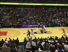 It's a bird! It's a plane - no wait, it's a Zoomph screen at the @washwizards game last week.  #ZoomphInAction #NBA #WizKids
