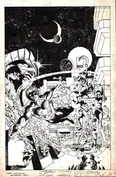 Original cover art by Frank Miller (pencils) and Terry Austin (inks) from Marvel Spotlight #8, published by Marvel, September 1980.