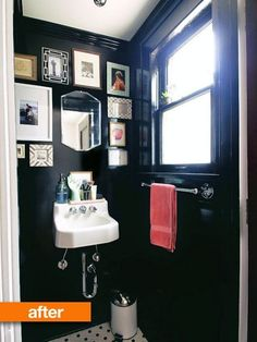 Before & After: Powder Room Exceeds Its Potential — From the Archives: Greatest Hits