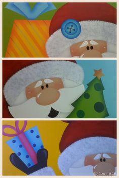 Juego individuales navideños