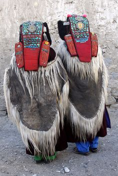india - zanskar | Flickr - Photo Sharing! Zanskari women in traditional dress.