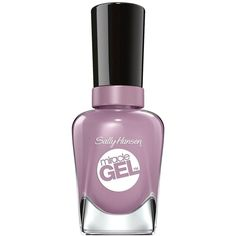 Sally Hansen Miracle Gel Nail Polish ($7.39) ❤ liked on Polyvore featuring beauty products, nail care, nail polish, nails, beauty, purple, filler, sally hansen nail care, gel nail color and sally hansen nail color