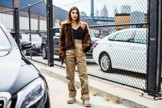 Street style à la Fashion Week printemps-été 2018 de New York  Photo par Sandra Semburg