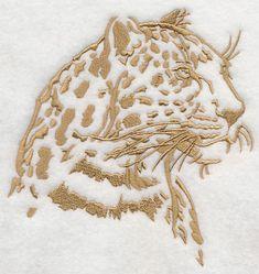 Safari Silhouette Leopard