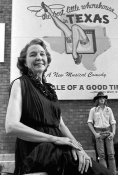 The Chicken Ranch of La Grange, Texas, was the house of ill repute ..Miss Edna Chadwell Last Madam of 'Chicken Ranch' Bordello, Dies at 84 in Feb 2012