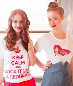 adrienne vendetti and stephanie vendetti founders of how to be a red head