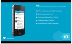 Tips from the Twitter Social Commerce Webinar!