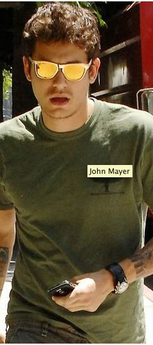 7f5fa3d414 John Mayer and Oakley Frogskin Sunglasses   Coolspotters John Mayer