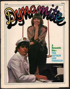 Dynamite Magazine cover with Captain & Tennille. I had this issue. Last Dance, Magazines For Kids, My Generation, Tv Guide, Sweet Memories, Back In The Day, Vintage Advertisements, My Music, Childhood Memories