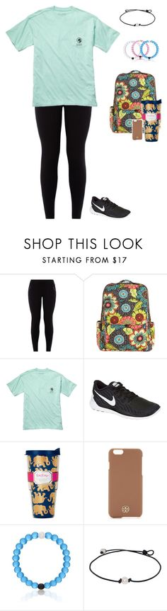 """HE WANTS TO GIVE ME A HUG"" by jackelinhernandez ❤ liked on Polyvore featuring Vera Bradley, Fraternity, NIKE and Tory Burch"