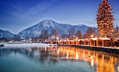 Tegernsee Christmas Market, Bayern, Germany I live here! Can't wait for christmas:). Et