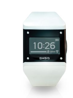 Basis band contains the most advanced sensors on the market, continuously capturing heart rate patterns, motion, perspiration and skin temperature throughout the day and night.