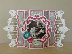 """Basiskaart gemaakt met Marianne Design LR0300 Papier: Zeeman Plaatje: Syta van Gelderen Tekstlabel: Docrafts """"MTY 157101"""" Stans: Joy 6002/0535, 6003/0061"""