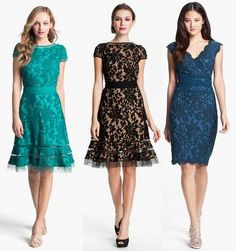 Brocade Lace Dresses Make With Lace In Different Color