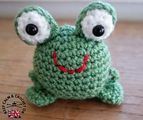 Finlay the Frog - free crochet pattern by Heather C Gibbs