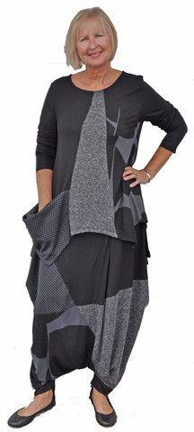 Alembika tunic and harem pant set