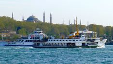 Hagia Sophia from Bosphorus, Istanbul #hagiasophia #bosphorus #ferries #istanbul #constantinople #historicalpeninsula #travel #turkey