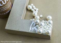 DIY Rose Gold Letters for Wedding Decor