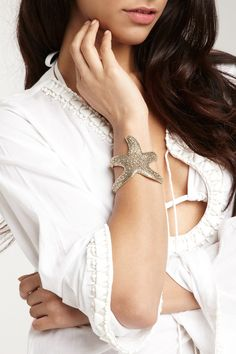Monique Leshman Starfish Cuff.. I JUST got this, this weekend! loooove it! :))