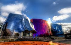Seattle Center (EMP) by Dave Morrow., via Flickr