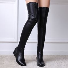 Nine Seven Women's Genuine Leather Ankle High Boots