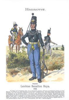 Band XVI #12.- Hannover. Leichtes Bataillon Hoya. 1816.
