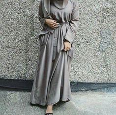 Beautiful in Black Abaya Fashion, Muslim Fashion, Modest Fashion, Islamic Fashion, Women's Fashion, Modest Wear, Modest Outfits, Stylish Outfits, Hijab Style Dress