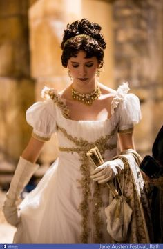 Airships and Petticoats: Gorgeous Regency Re-enactor Dress