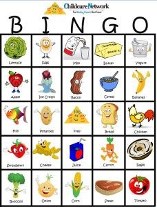 Ways To Keep Kids Entertained While Grocery Ping Printable Bingo Card