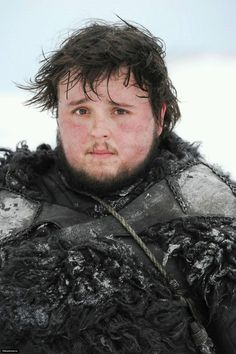 John Bradley as Night's Watchman Samwell Tarly, Game of Thrones