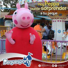 Mira Peppa te está saludando devuelvele el saludo con mucho cariño . . #pequesparty #maracaibo #fiestainfantil #diversion #entretenimiento #juegosinteractivos #peppapig #peppa #buenosdias