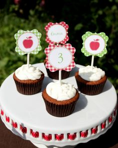 apple birthday ideas